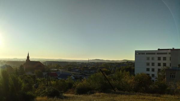 Утро в Кокшетау2