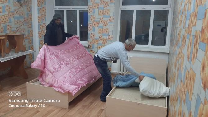 Россиян спасли из снежных заносов в Акмолинской области