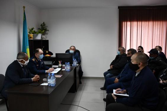 Особенности посевной кампании в условиях  режима карантина обсудили полицейские и аграрии области